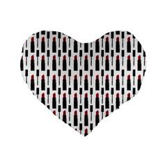 Makeup Standard 16  Premium Flano Heart Shape Cushions