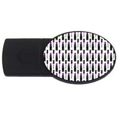 Makeup Usb Flash Drive Oval (4 Gb) by Valentinaart