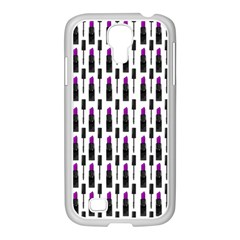 Makeup Samsung Galaxy S4 I9500/ I9505 Case (white) by Valentinaart