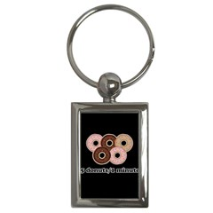 Five Donuts In One Minute  Key Chains (rectangle)  by Valentinaart
