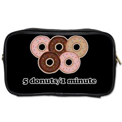 Five Donuts In One Minute  Toiletries Bags