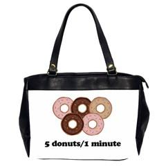 852 Office Handbags (2 Sides)  by Valentinaart