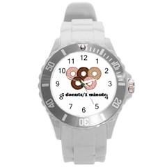 852 Round Plastic Sport Watch (l) by Valentinaart