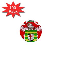 County Donegal Coat Of Arms 1  Mini Buttons (100 Pack)  by abbeyz71
