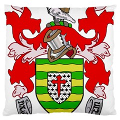 County Donegal Coat Of Arms Standard Flano Cushion Case (one Side) by abbeyz71