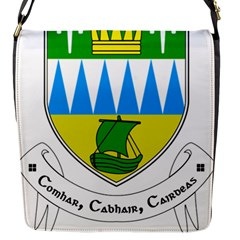 Coat Of Arms Of County Kerry  Flap Messenger Bag (s) by abbeyz71