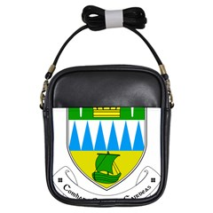 Coat Of Arms Of County Kerry Girls Sling Bags by abbeyz71