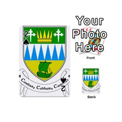 Coat Of Arms Of County Kerry Playing Cards 54 (mini)  by abbeyz71
