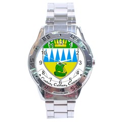 Coat Of Arms Of County Kerry Stainless Steel Analogue Watch by abbeyz71
