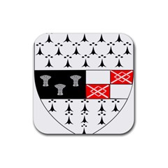 County Kilkenny Coat Of Arms Rubber Coaster (square)  by abbeyz71