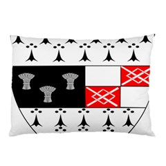County Kilkenny Coat Of Arms Pillow Case by abbeyz71