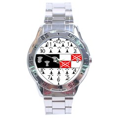 County Kilkenny Coat Of Arms Stainless Steel Analogue Watch by abbeyz71