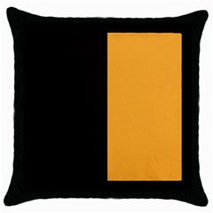 Flag Of County Kilkenny Throw Pillow Case (black) by abbeyz71