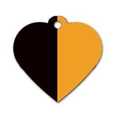 Flag Of County Kilkenny Dog Tag Heart (two Sides) by abbeyz71