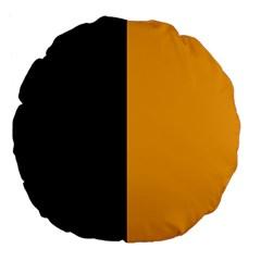 Flag Of County Kilkenny Large 18  Premium Flano Round Cushions by abbeyz71