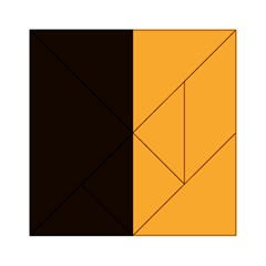 Flag Of County Kilkenny Acrylic Tangram Puzzle (6  X 6 ) by abbeyz71