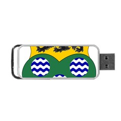 County Leitrim Coat Of Arms Portable Usb Flash (two Sides) by abbeyz71