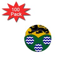 County Leitrim Coat Of Arms  1  Mini Buttons (100 Pack)  by abbeyz71
