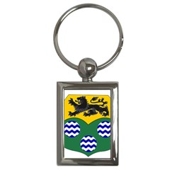 County Leitrim Coat Of Arms  Key Chains (rectangle)  by abbeyz71