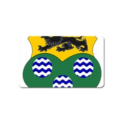 County Leitrim Coat Of Arms  Magnet (name Card) by abbeyz71