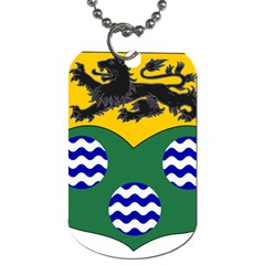 County Leitrim Coat Of Arms  Dog Tag (two Sides) by abbeyz71