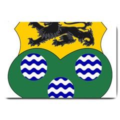 County Leitrim Coat Of Arms  Large Doormat  by abbeyz71