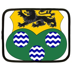 County Leitrim Coat Of Arms  Netbook Case (large) by abbeyz71