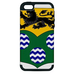 County Leitrim Coat Of Arms  Apple Iphone 5 Hardshell Case (pc+silicone) by abbeyz71