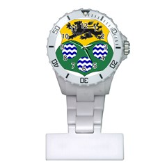 County Leitrim Coat Of Arms  Plastic Nurses Watch