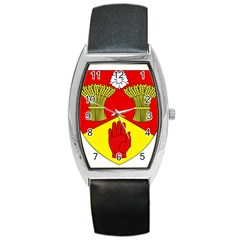 County Londonderry Coat Of Arms  Barrel Style Metal Watch by abbeyz71