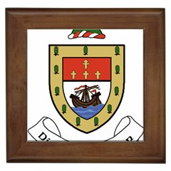 County Mayo Coat Of Arms Framed Tiles by abbeyz71