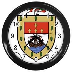 County Mayo Coat of Arms Wall Clocks (Black)