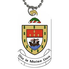 County Mayo Coat Of Arms Dog Tag (two Sides) by abbeyz71