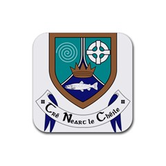 County Meath Coat Of Arms Rubber Square Coaster (4 Pack)  by abbeyz71