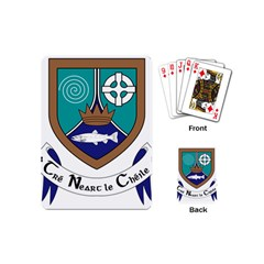 County Meath Coat Of Arms Playing Cards (mini)  by abbeyz71