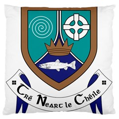 County Meath Coat Of Arms Standard Flano Cushion Case (two Sides)