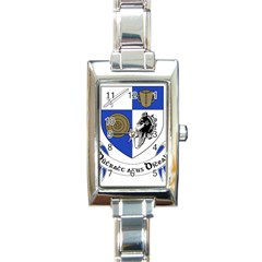 County Monaghan Coat Of Arms Rectangle Italian Charm Watch by abbeyz71