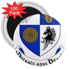 County Monaghan Coat Of Arms 3  Magnets (100 Pack) by abbeyz71