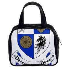 County Monaghan Coat Of Arms Classic Handbags (2 Sides) by abbeyz71