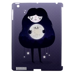 Moon Apple Ipad 3/4 Hardshell Case (compatible With Smart Cover) by Mjdaluz