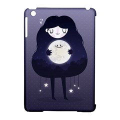 Moon Apple Ipad Mini Hardshell Case (compatible With Smart Cover) by Mjdaluz