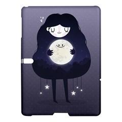 Moon Samsung Galaxy Tab S (10 5 ) Hardshell Case  by Mjdaluz