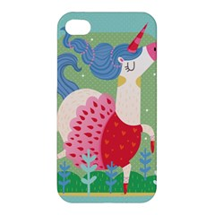 Unicorn Apple Iphone 4/4s Hardshell Case by Mjdaluz