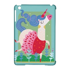 Unicorn Apple Ipad Mini Hardshell Case (compatible With Smart Cover) by Mjdaluz