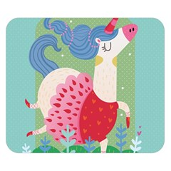 Unicorn Double Sided Flano Blanket (small)  by Mjdaluz
