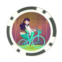 Bikeride Poker Chip Card Guard by Mjdaluz