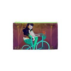 Bikeride Cosmetic Bag (xs) by Mjdaluz