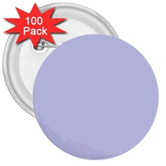 Pastel Color   Light Bluish Gray 3  Buttons (100 Pack)  by tarastyle