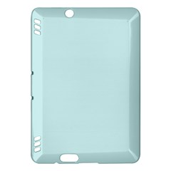 Pastel Color   Light Cyanish Gray Kindle Fire Hdx Hardshell Case by tarastyle