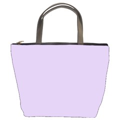 Pastel Color   Light Violetish Gray Bucket Bags by tarastyle
